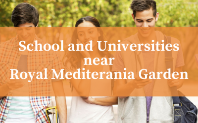 School and Universities near Royal Mediterania Garden