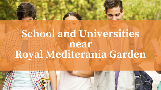 School and Universities near Royal Mediterania Garden